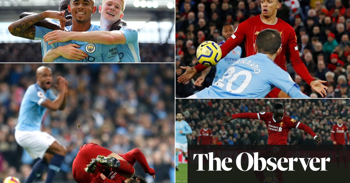 Liverpool v Manchester City: great games in the Klopp-Guardiola era