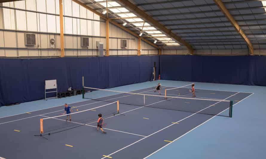 Youths in practice at Parklangley Club.