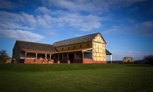 Dai Morgan Evans advised on the construction of the Roman villa in Wroxeter, Shropshire.