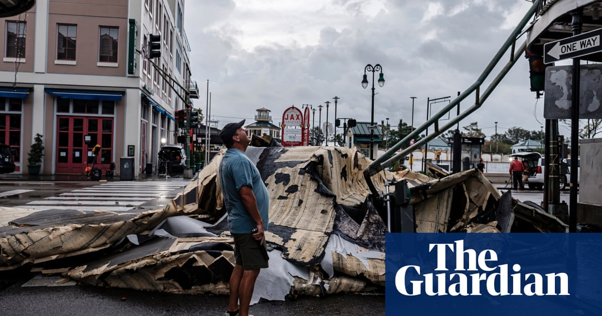 Hurricane Ida: over a million without power as New Orleans assesses damage