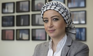Zaina Erhaim returned to war-ravaged Syria.