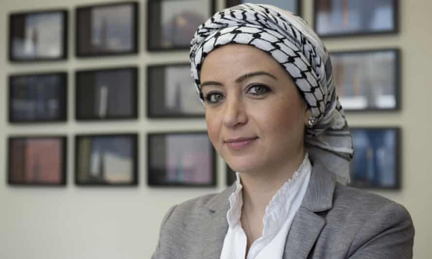 Syrian journalist Zaina Erhaim had her passport confiscated when she arrived at Heathrow airport.