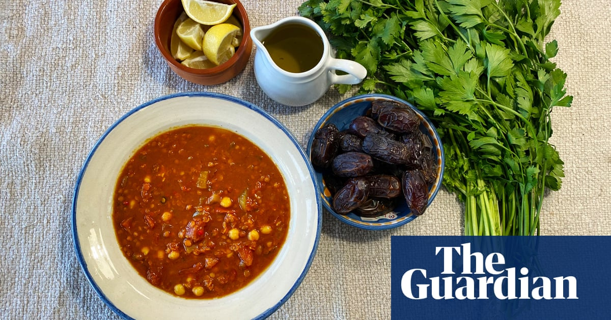 Recipes for Ramadan: quick and easy Moroccan harira soup from Jane Jeffes
