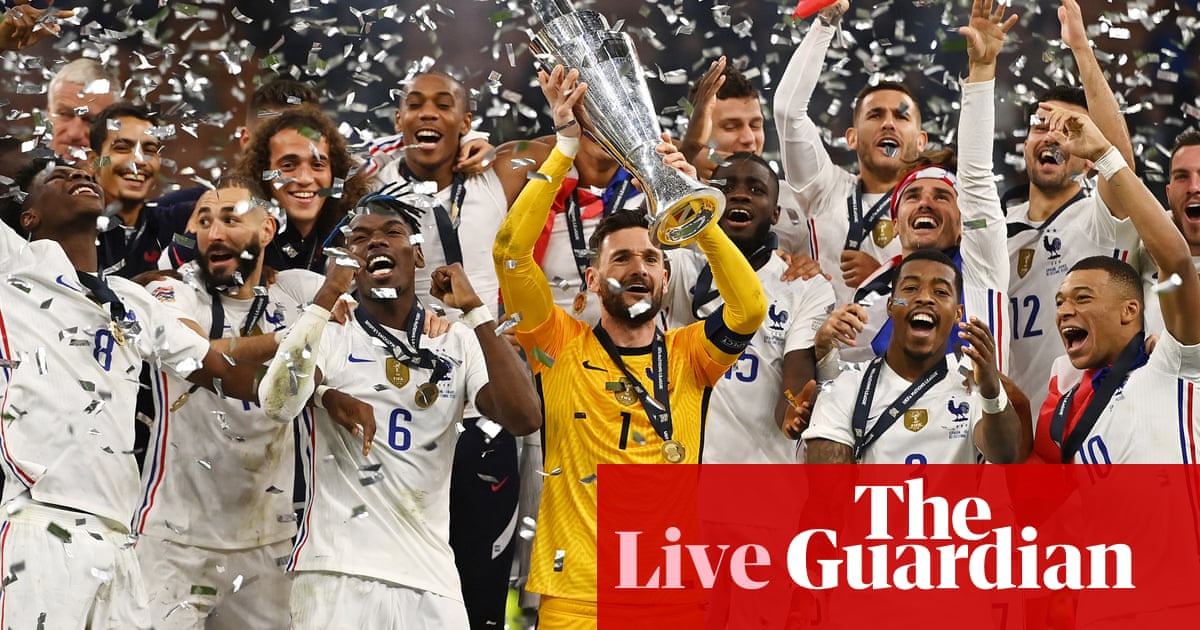 France win Nations league – as it happened!