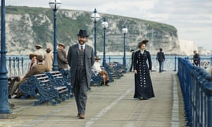 Matthew MacFadyen and Hayley Atwell in Howards End.