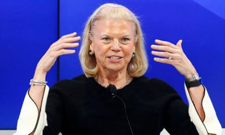 Ginni Rometty, Chairman and CEO of IBM, wrote a letter to Trump after his victory offering her company's services.