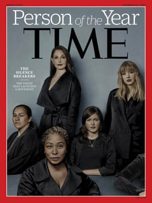 Time magazine's Person of the Year edition went to 'The Silence Breakers' – those who have shared their stories about sexual assault and harassment. The magazine's cover features Ashley Judd, Taylor Swift, Susan Fowler and others. (Time Magazine via AP)
