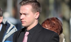 Matthew Scully-Hicks is on trial at Cardiff crown court.