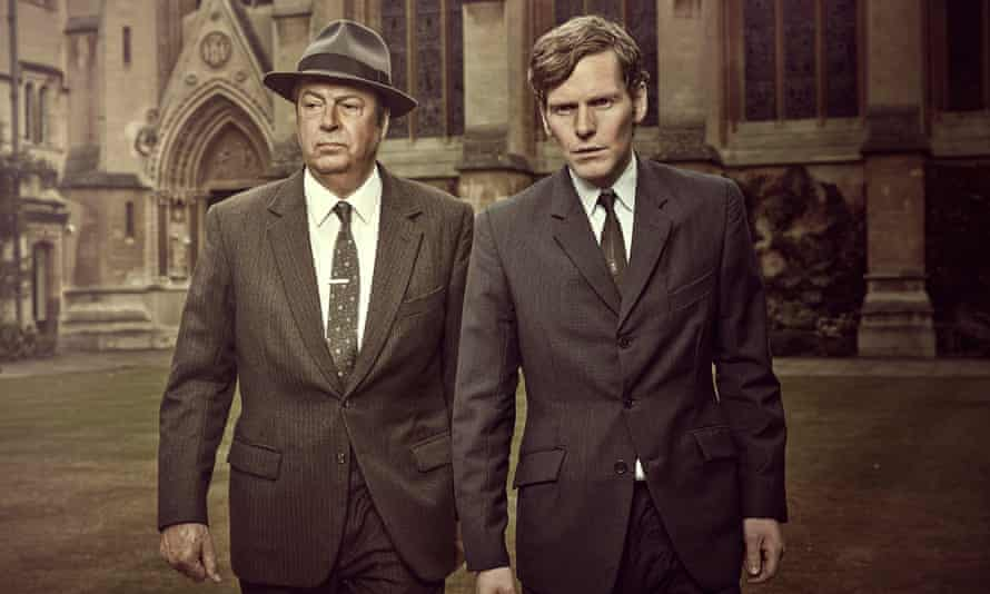 Roger Allam and Shaun Evans in Endeavour.