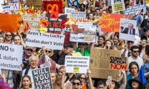 Australians rally against the climate crisis