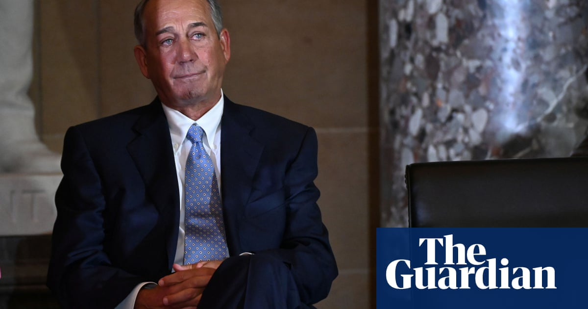 Trump's obsession with Deep State conspiracy 'delusional', John Boehner says