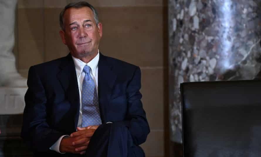 Former House Speaker John Boehner: 'The Deep State as a boogeyman is not an idea the Trump Republicans invented out of whole cloth.'