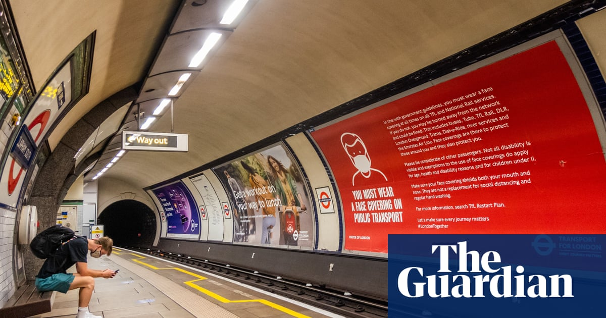 TfL hit by £100m fall in ad revenue across tube, rail and bus network