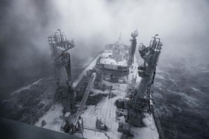 Sailing into the mouth of the Beast - the view from the bridge of brand-new Royal Navy tanker RFA Tidespring