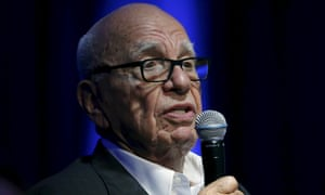 Rupert Murdoch (pictured) has complained about David Cameron being too easily influenced by Google.