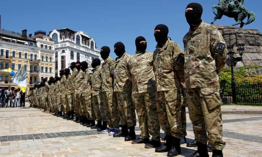 Ukrainian Azov battalion