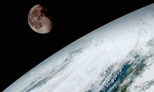 The moon is 45,000km further from Earth than it was 1.4bn years ago.
