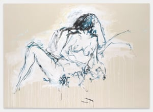 You were here like the ground underneath my feet ... Tracey Emin