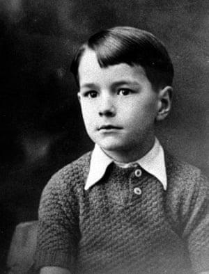Chirac as a boy