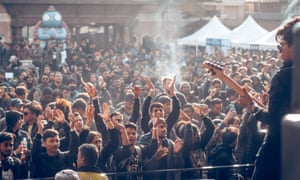 'Cops said, 'What kind of a noise is this?'' … the swelling crowd at Nepal's Silence festival.