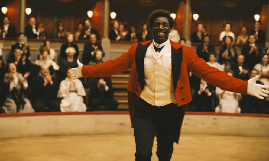 Sombre shades of introspection … Omar Sy in Chocolat
