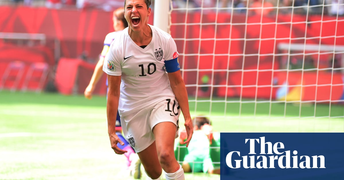The secret to Carli Lloyd's brilliant career? Her magnificent fury