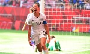 Carli Lloyd: World Cup hero.