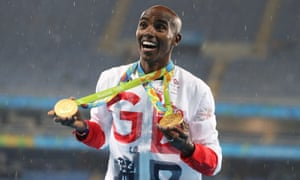 Mo Farah retained his 5,000m and 10,000m titles at the Rio Olympics but only finished fourth in the BBC Sports Personality of the Year award