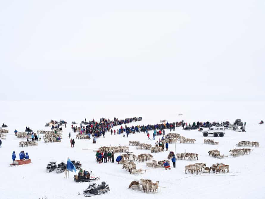Charles Xelot, Reindeer race from the series There is Gas undrr the tundra