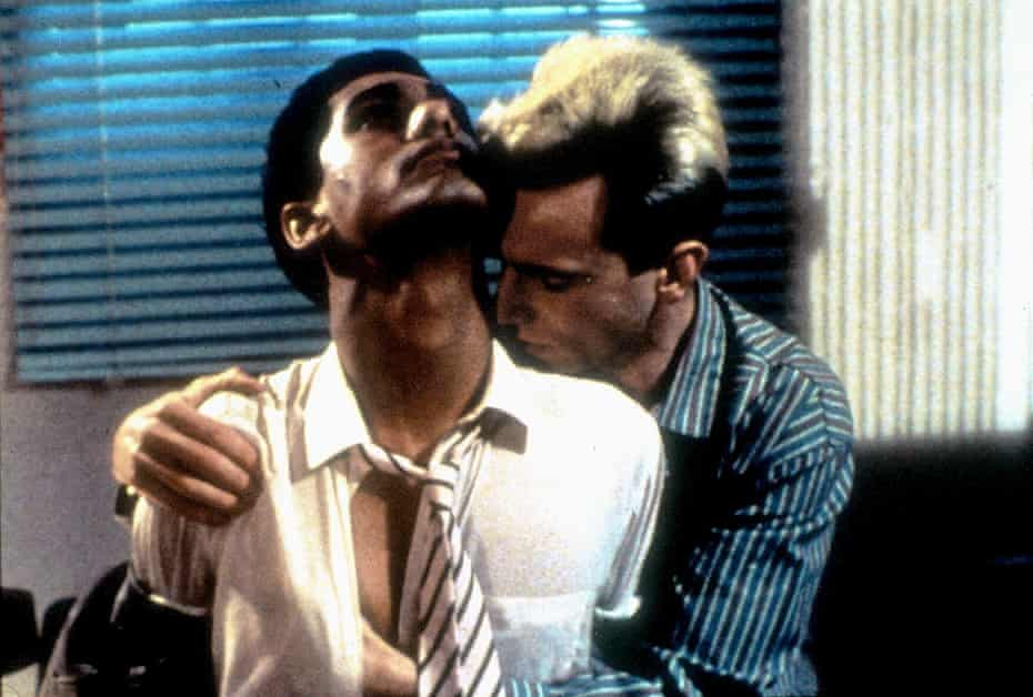 Forbidden and hedonistic … Gordon Warnecke and Daniel Day-Lewis in My Beautiful Laundrette.