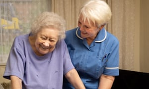 Kirklees Council, In2Care Sue Crawshaw a Community Care Worker with one of our independent sector Domiciliary Care providers.