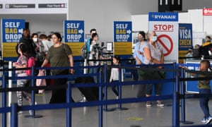 Passengers at Stansted