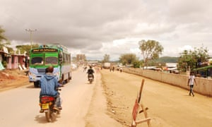 In Moyale, southern Ethiopia, a road marks the long-contested frontier between Oromia and Somali regional states.