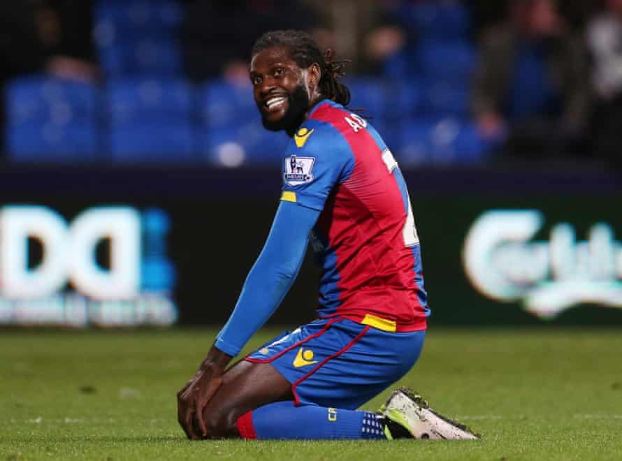 Emmanuel Adebayor has been without a club since leaving Crystal Palace in June.