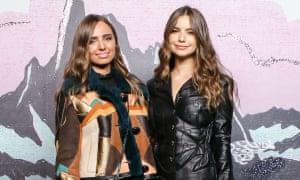 Suzanna (l) and Violetta Komyshan