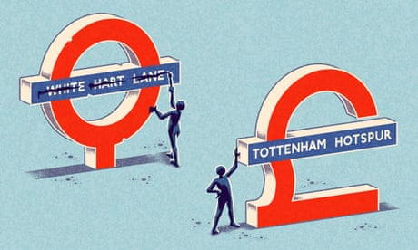 Tottenham Hotspur station? Some hate it, but branding the railways is nothing new | Ian Jack