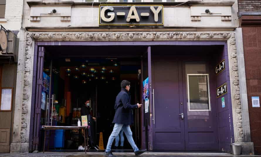 G-A-Y in Soho, London.