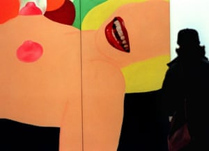 Tom Wesselmann's Great American Nude #53 on show in Barcelona.