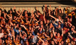 Bradford City fans enjoying the Fleetwood sun after their play-off final against Millwall is confirmed.