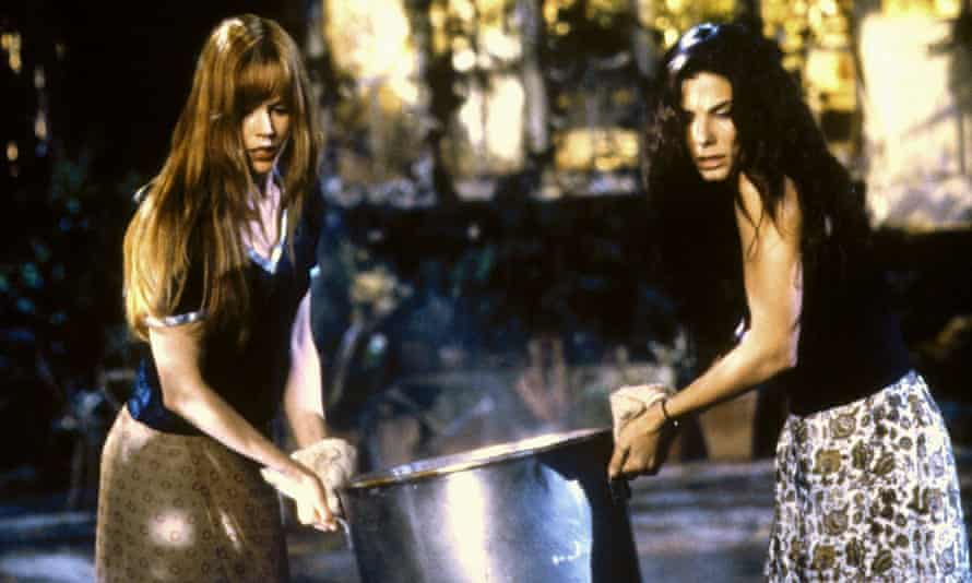 Double toil and trouble …  Nicole Kidman and Sandra Bullock in the 1998 film adaptation of Practical Magic.