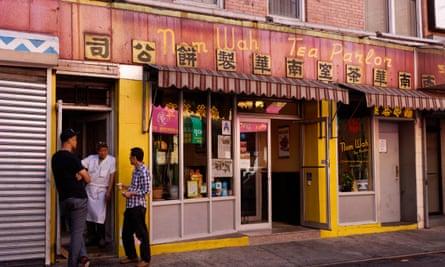 Nom Wah Tea Parlor on Doyers St