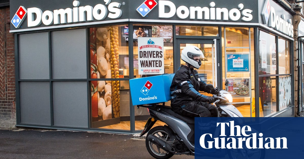 Domino's Pizza to hire 8,000 delivery drivers in UK and Ireland