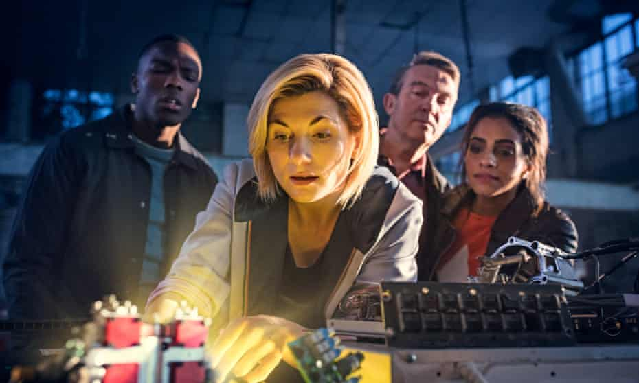 Jodie Whittaker in the new series of Doctor Who.
