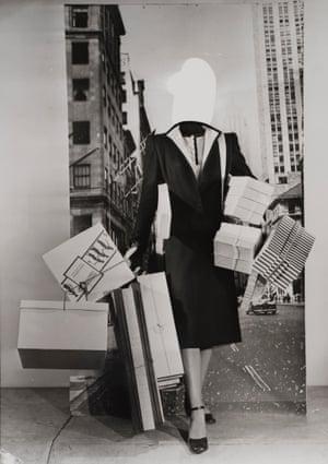 Erwin Blumenfeld, Fashion Montage,
