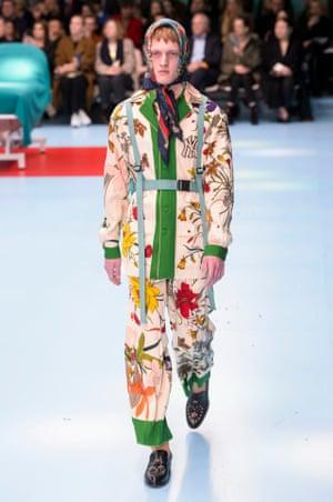 Gucci AW18, Milan fashion week.