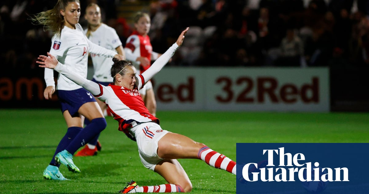 Women's FA Cup: Arsenal fight back to sink Spurs, City's Shaw hits hat-trick