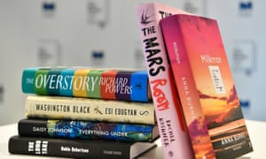 The six titles vying for the Man Booker prize