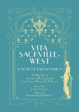 Front cover of 'A Note of Explanation: A Little Tale of Secrets and Enchantments from Queen Mary's Dolls' House' by Vita Sackville-West, published by Royal Collection Trust on 16 October.