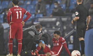 Trent Alexander-Arnold is still awaiting the results of a scan on his injured calf.