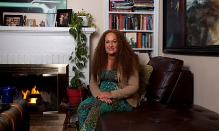 Rachel Dolezal at home in Spokane, WA, on 4 December 2015